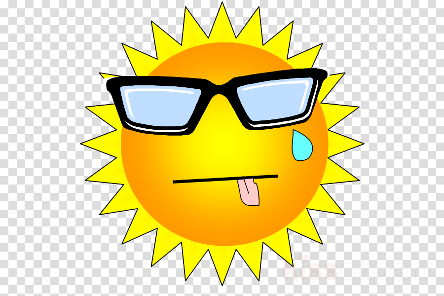 Glasses Television Summer Clip art Hot