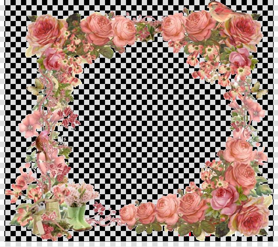 Picture Frames Clip art Portable Network Graphics Flower Floral design