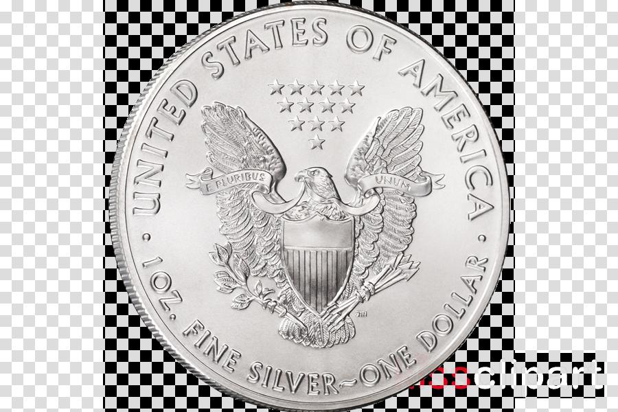 Silver coin Silver coin Ounce Moon