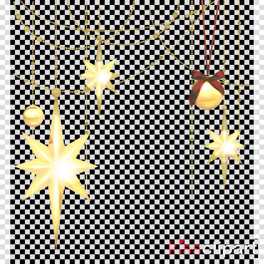 Clip art Christmas ornament Christmas Day Gold Christmas Star