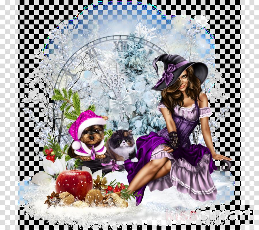 Christmas ornament Purple Tree Christmas Day