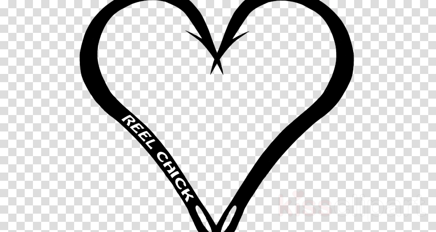 Clip art Black & White - M Leaf Line art