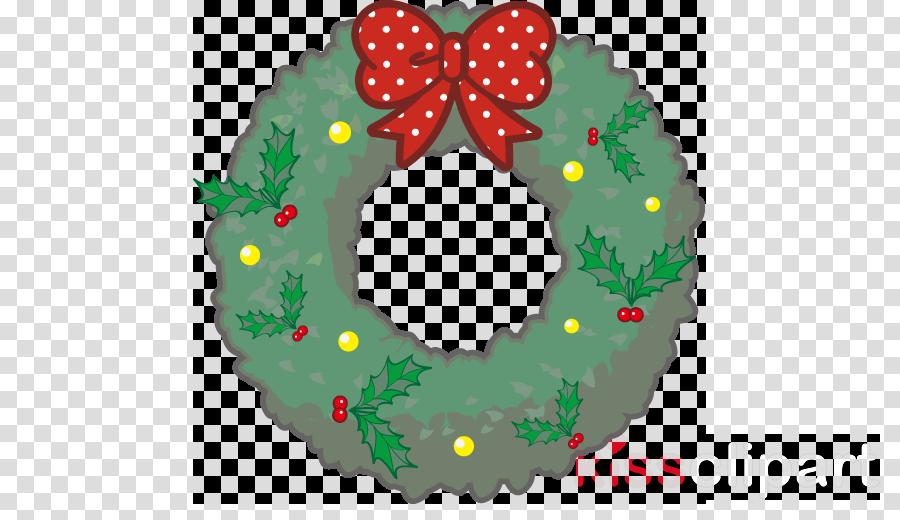 Wreath Santa Claus Christmas Day Garland Christmas decoration