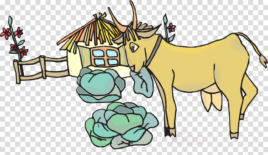 Goat, Sheep, House, transparent png image & clipart free