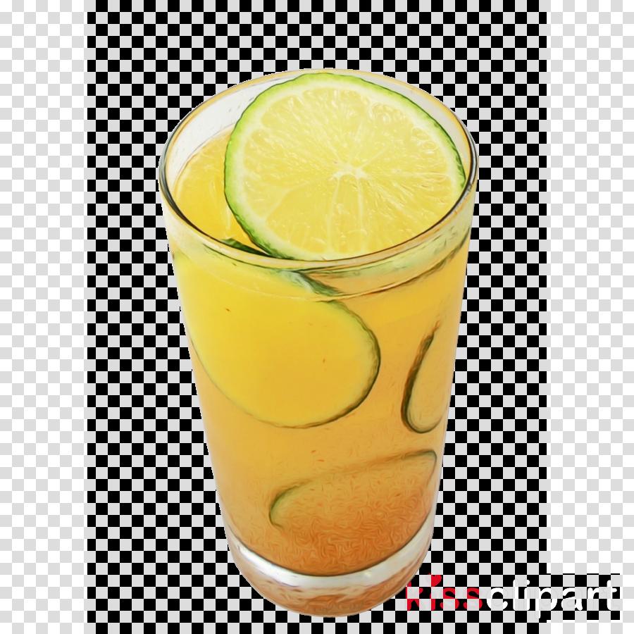 Limeade Orange drink Fuzzy navel Harvey Wallbanger
