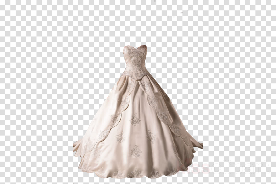 Wedding dress Ball gown Neckline