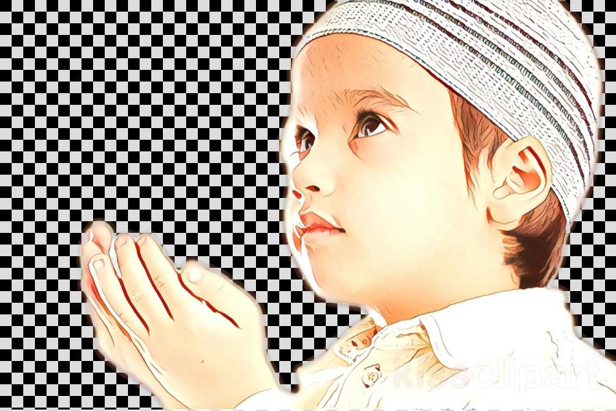 Child Quran Dua Muslim Allah