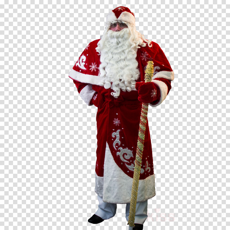 Ded Moroz Santa Claus Snegurochka Costume Christmas ornament