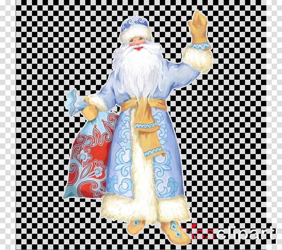 Santa Claus Ded Moroz Snegurochka New Year Christmas Day