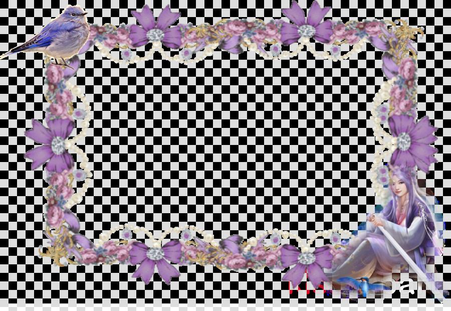 Body Jewellery Petal Picture Frames Purple Flower