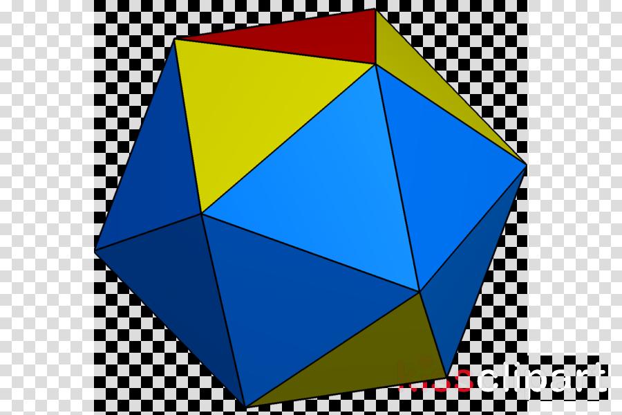 Triangle Regular icosahedron Symmetry Regular polyhedron