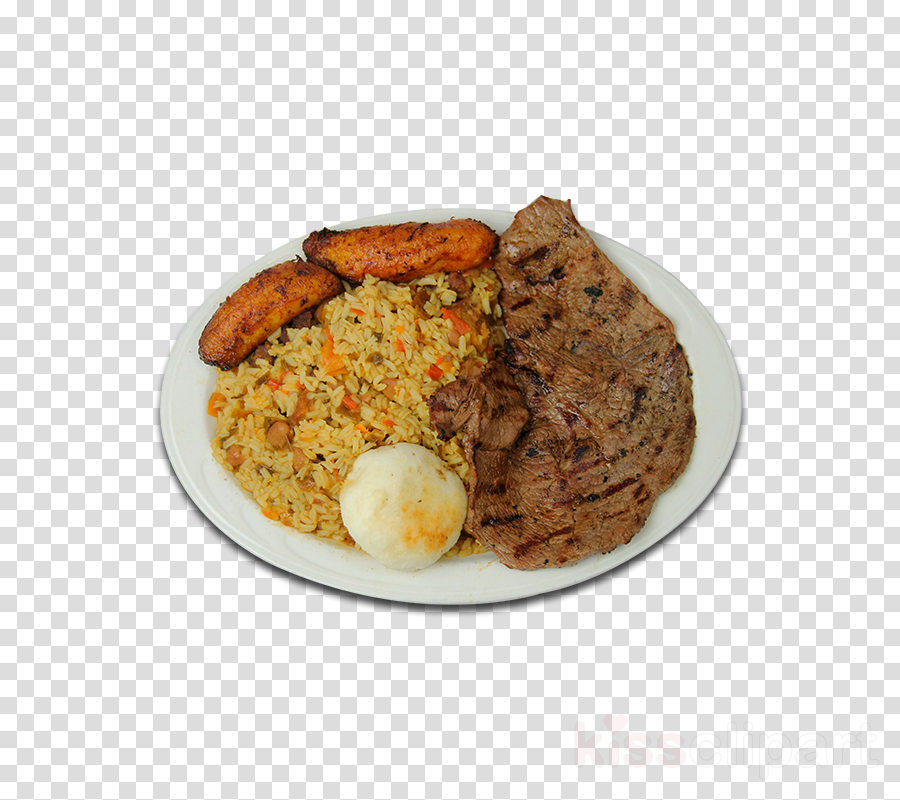 Rice and beans Full breakfast Calentao Food