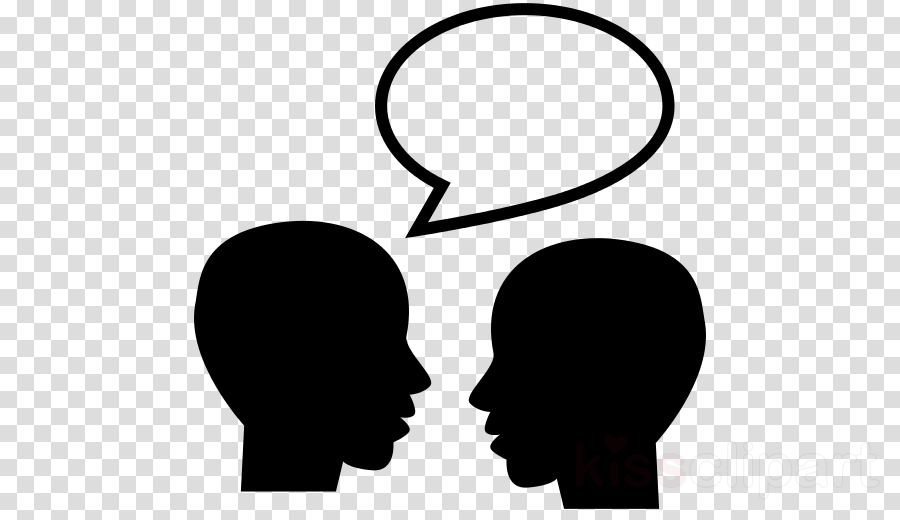 Vector graphics Talking Heads Silhouette Clip art Illustration
