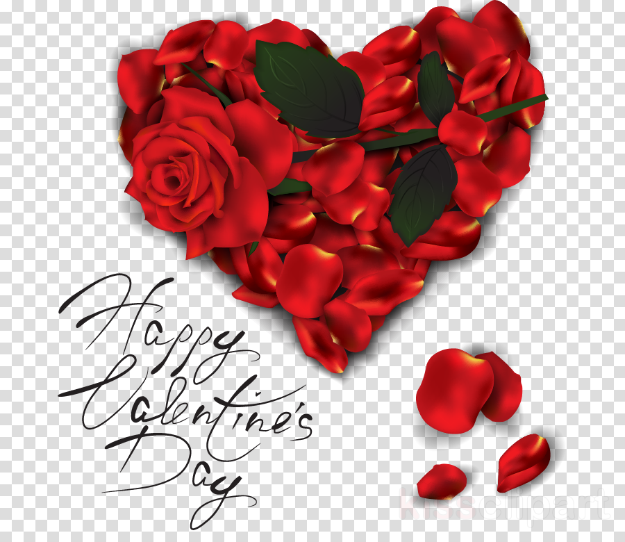 Valentine's Day Heart Rose Image Love