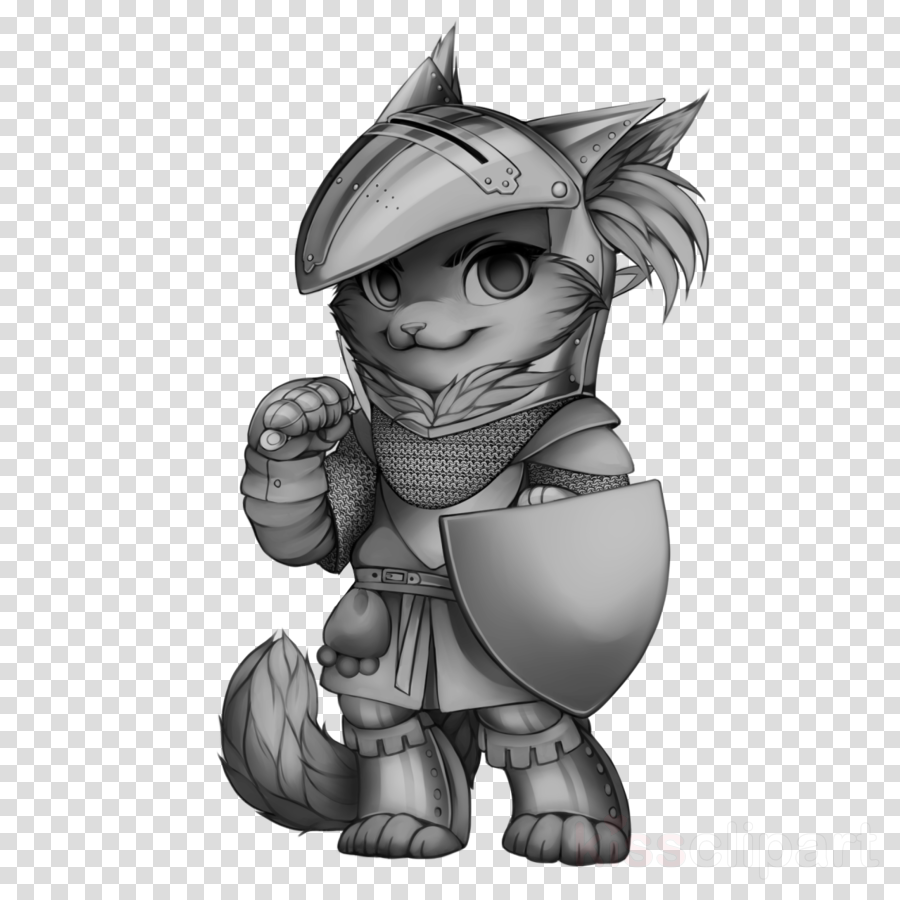 Cat Drawing Warriors Image Clip art