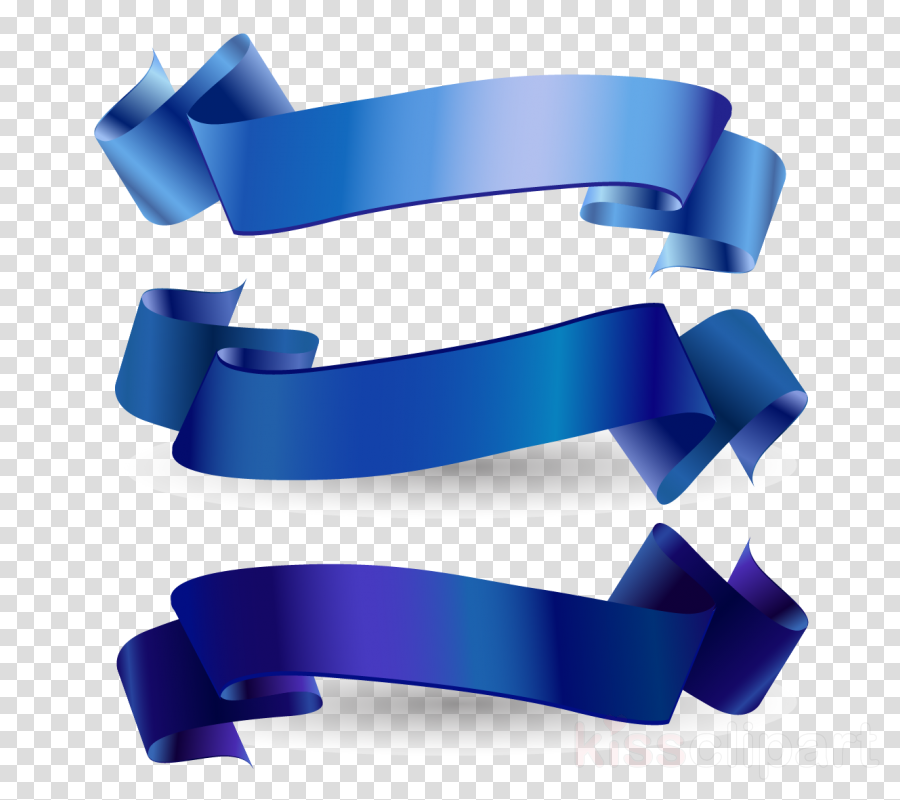 Vector graphics Blue ribbon Clip art Royalty-free Illustration