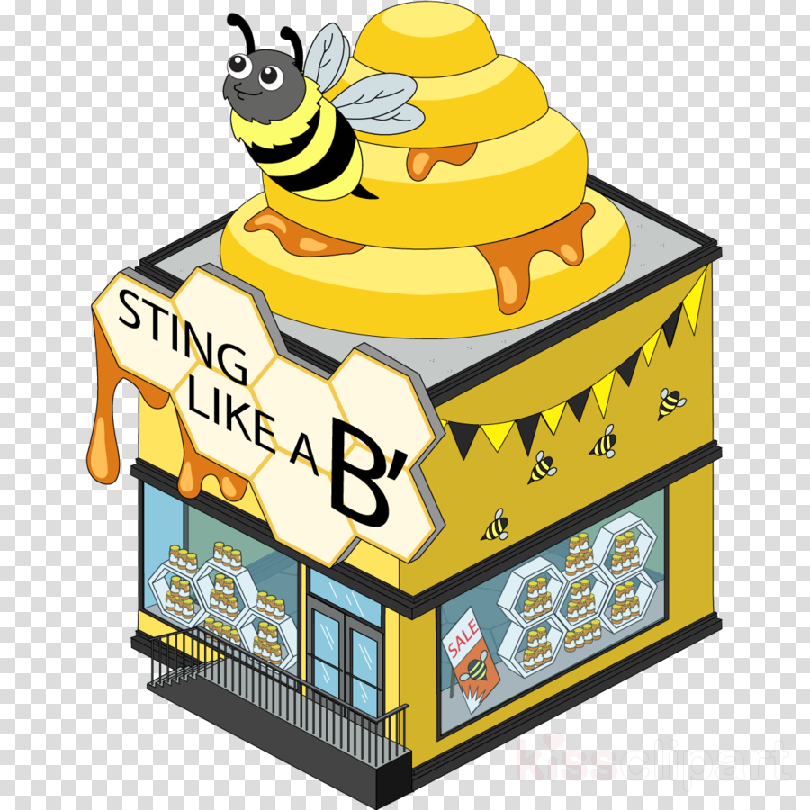 Clip art Honey bee Cartoon Portable Network Graphics