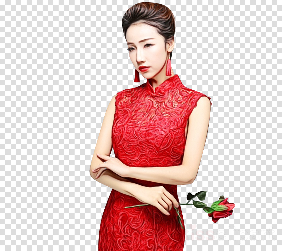 Cheongsam Dress Fashion Clothing Sleeve