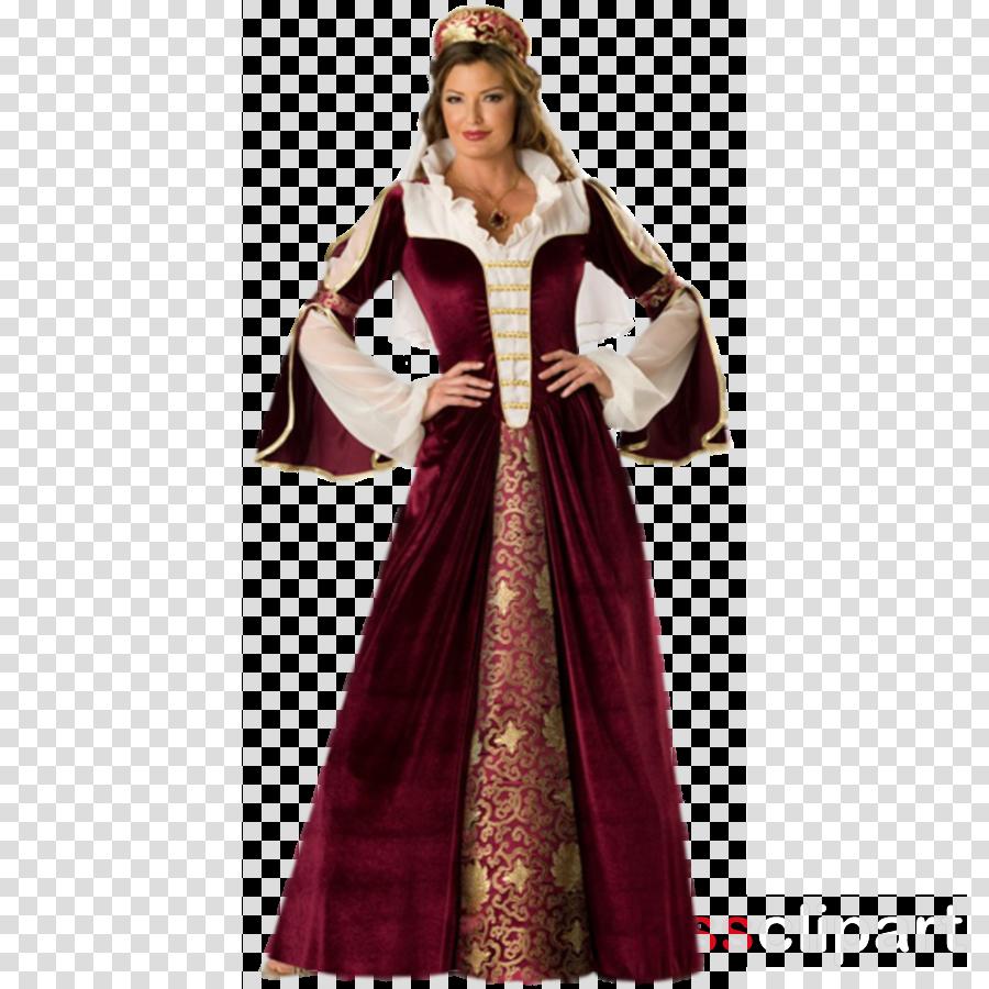 Renaissance Costumes Victorian era Halloween costume Dress