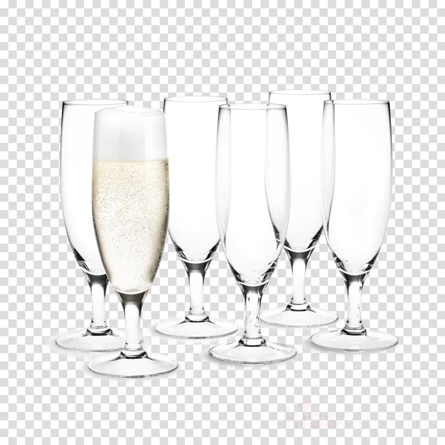 Holmegaard Stemware Champagne glass Table-glass