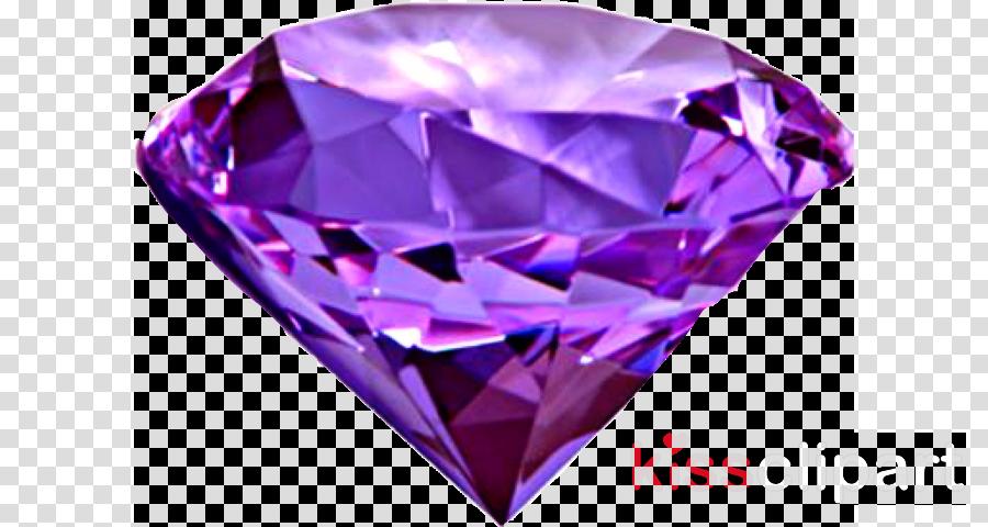 Diamond color Gemstone Amethyst Purple