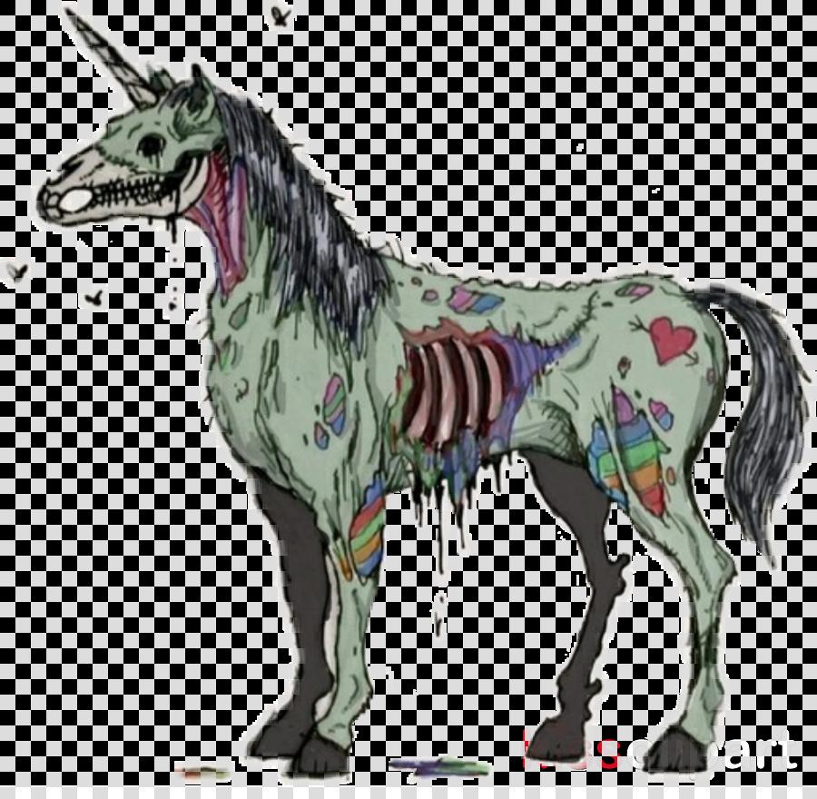 Unicorn Zombie Apocalypse Unicorn Zombie Transparent Png Image