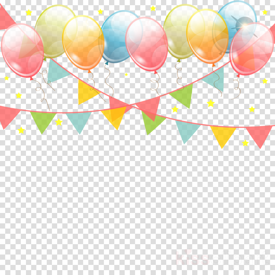 Balloon Birthday Desktop Wallpaper Transparent Png Image