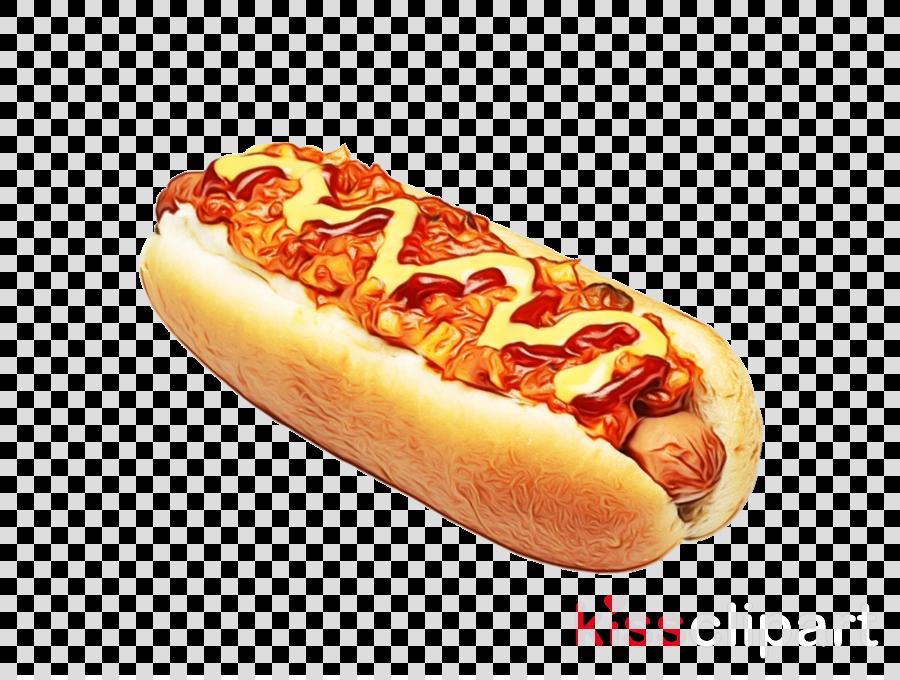 fast food food chili dog hot dog bun sausage bun