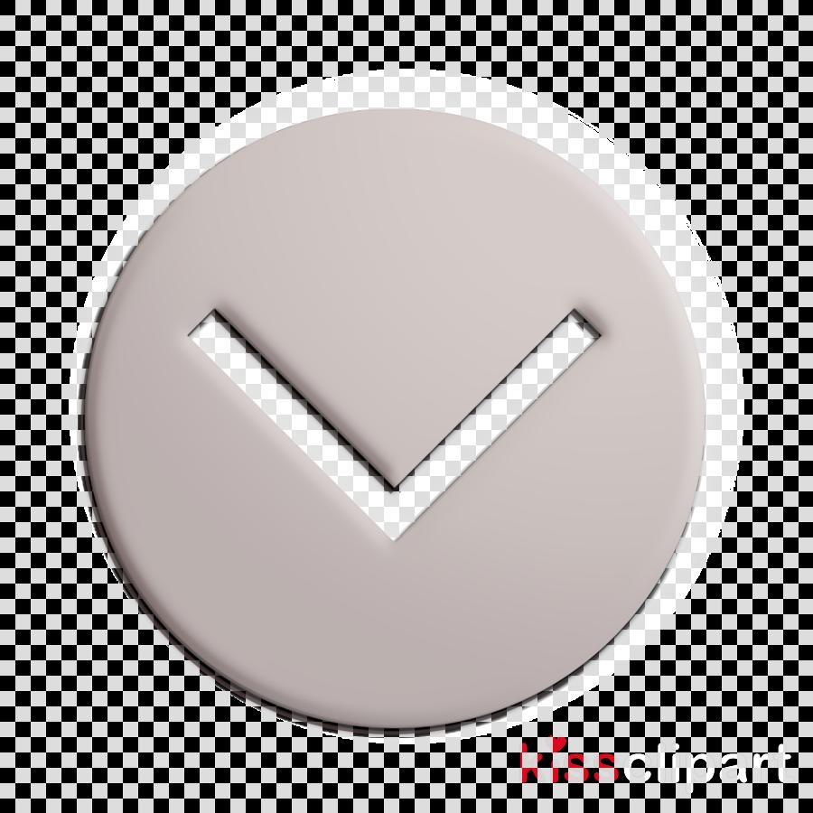 arrow icon botton icon down icon