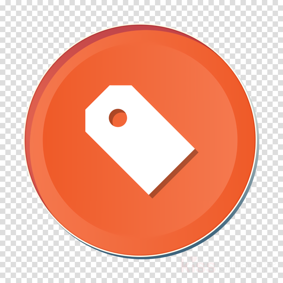 Attribute Icon Category Icon Label Icon Clipart Orange