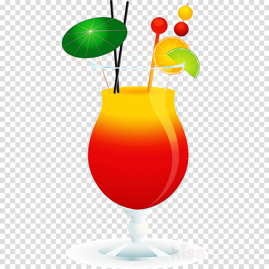 hurricane cocktail garnish drink clip art juice
