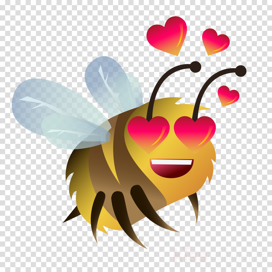 cartoon clip art insect membrane-winged insect honeybee