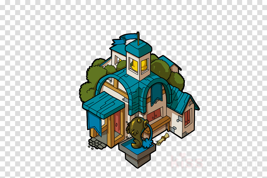cartoon house architecture residential area home