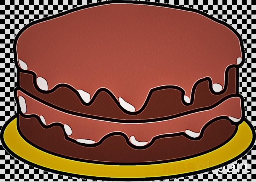 Clip Art Cake Chocolate Cake Baked Goods Kuchen Clipart