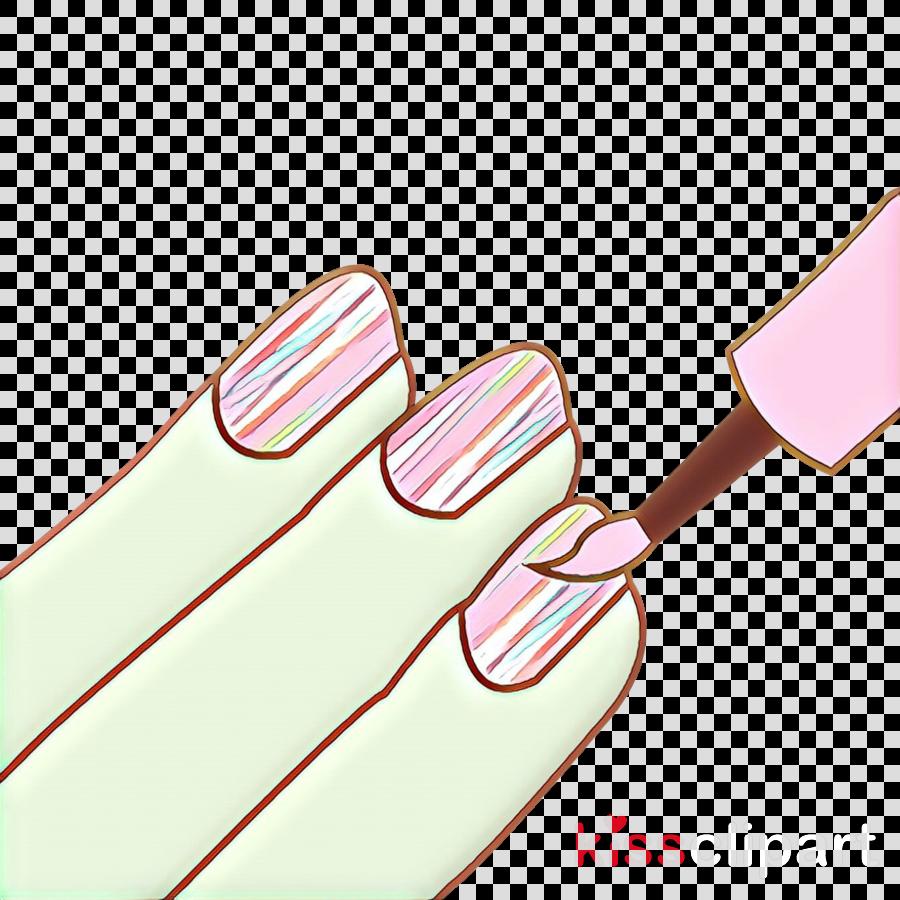 pink material property clip art nail finger