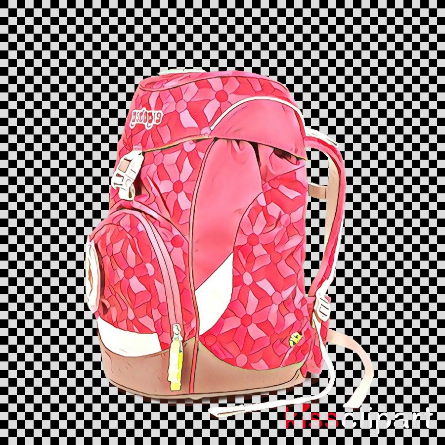 backpack bag pink red footwear