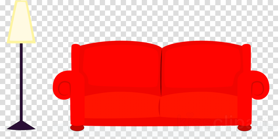 red furniture couch loveseat chair