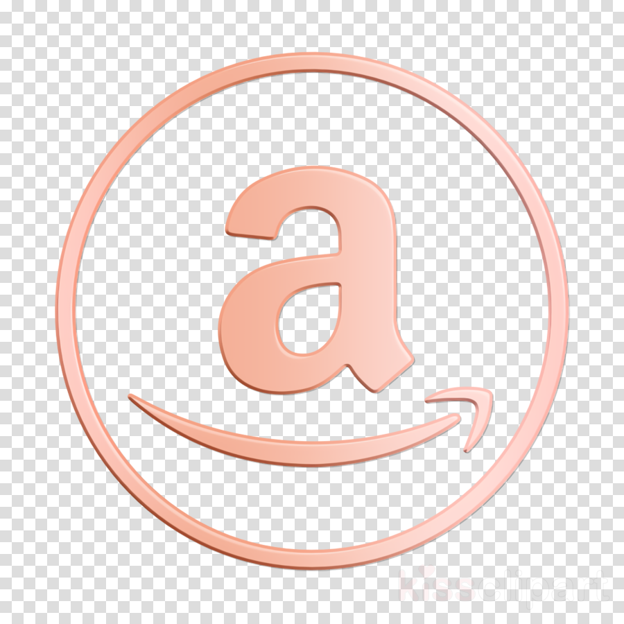 Amazon Icon Ecommerce Icon Online Icon Clipart Pink Symbol