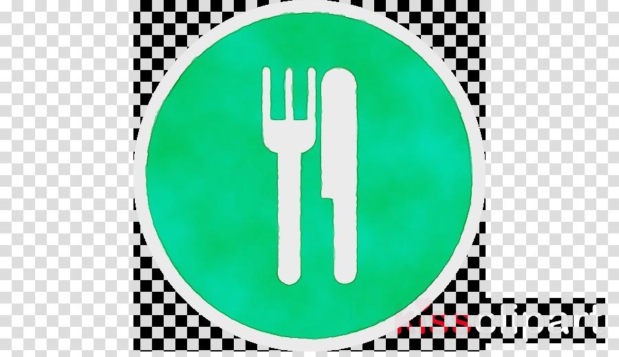 green fork hand turquoise finger