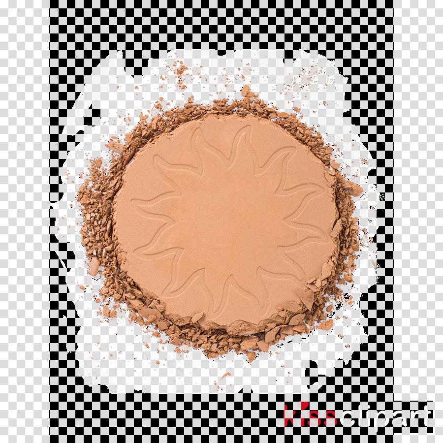 brown beige powder circle