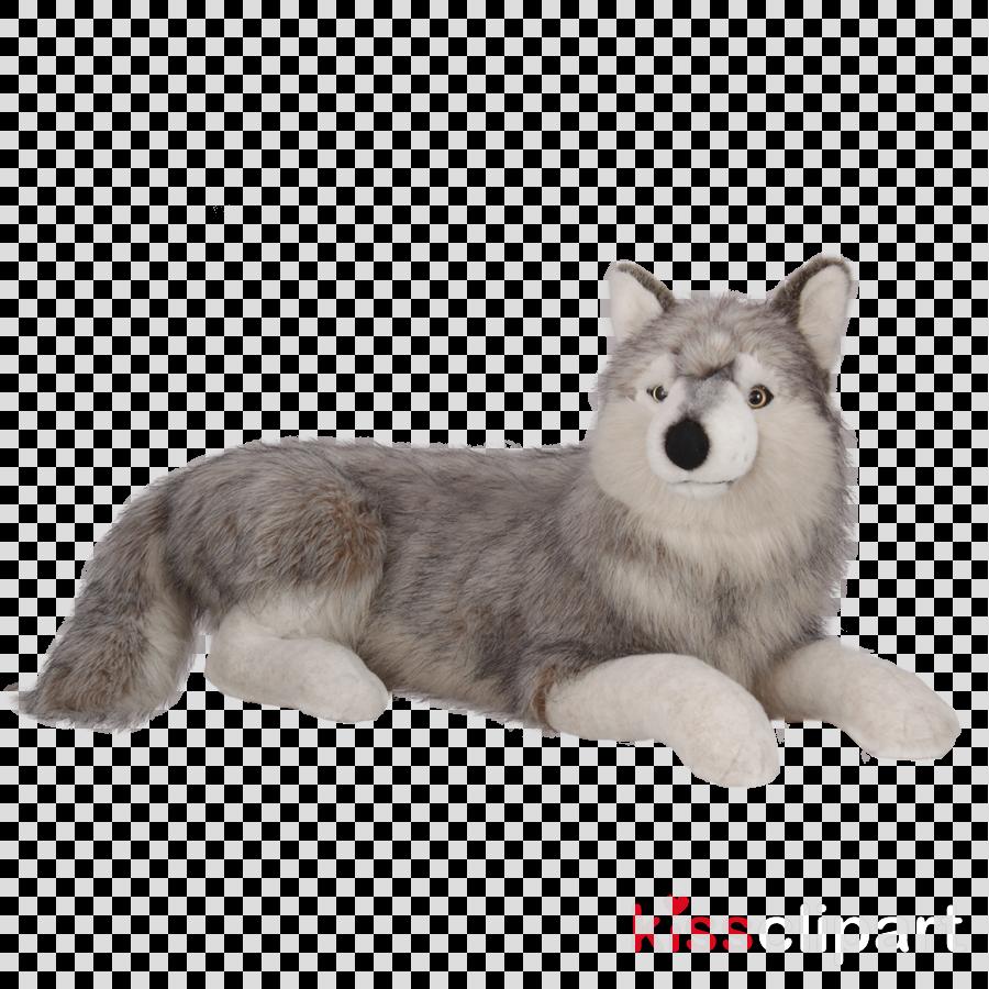dog siberian husky alaskan malamute wolfdog stuffed toy