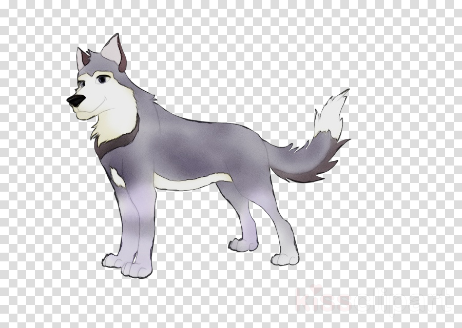 dog cartoon siberian husky animal figure alaskan malamute