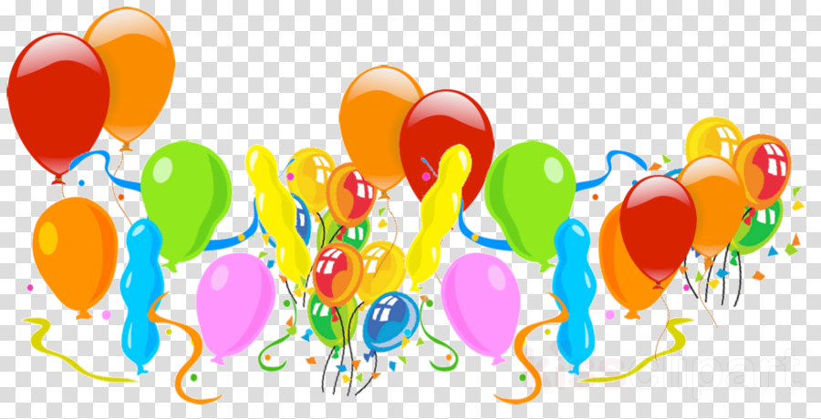 balloon party supply clip art font graphic design