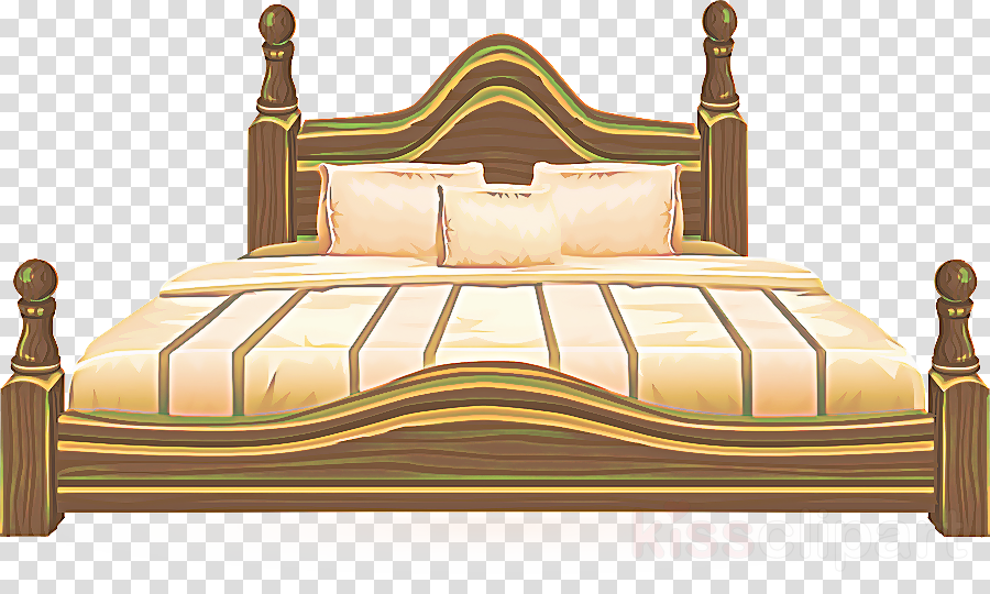 furniture bed yellow bed frame room