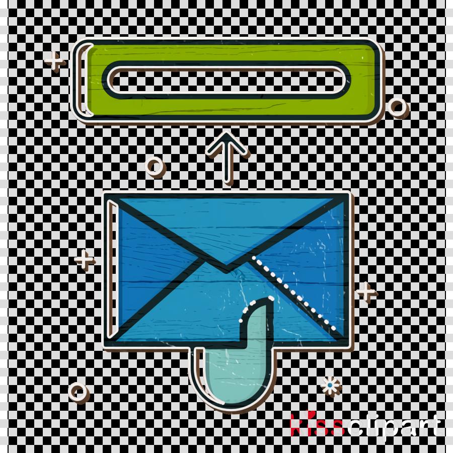 employee icon job icon mail icon