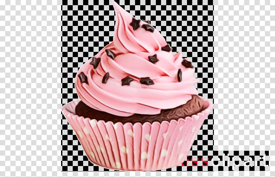 cupcake food pink buttercream dessert