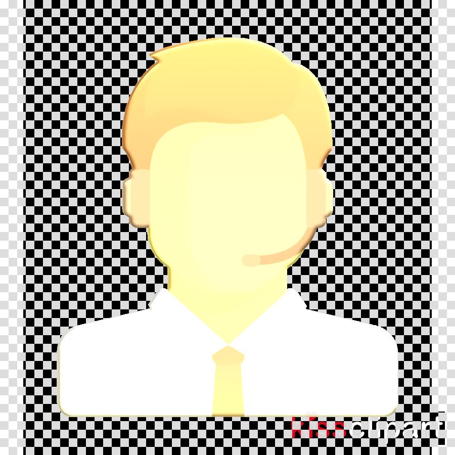Customer service icon Man icon Management icon