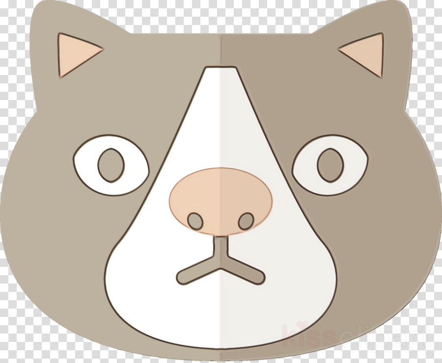 cartoon snout nose clip art whiskers