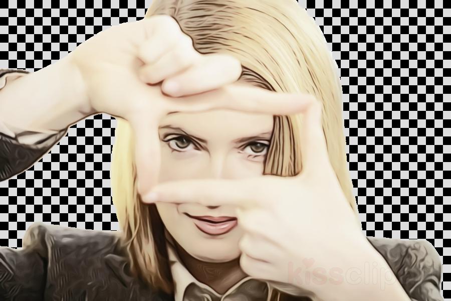 hair face skin blond forehead