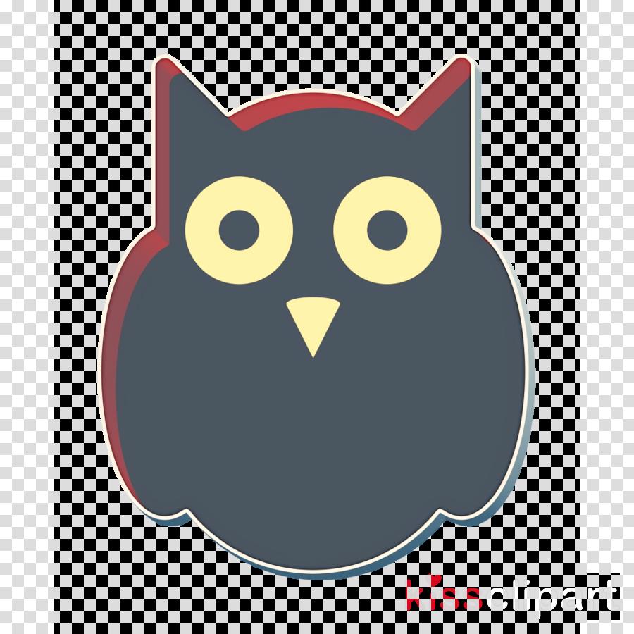 halloween icon horror icon owl icon clipart , Owl, Bird